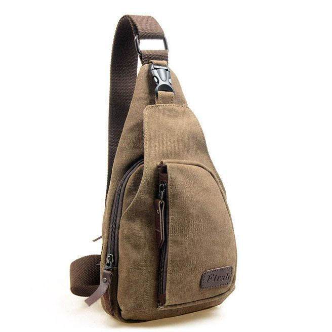 Women/Men Canvas Shoulder Backpack Sling Hiking Shoulder Bicycle Bag Chest Bags | Clothes, Shoes & Accessories, Men's Accessories, Bags | eBay!