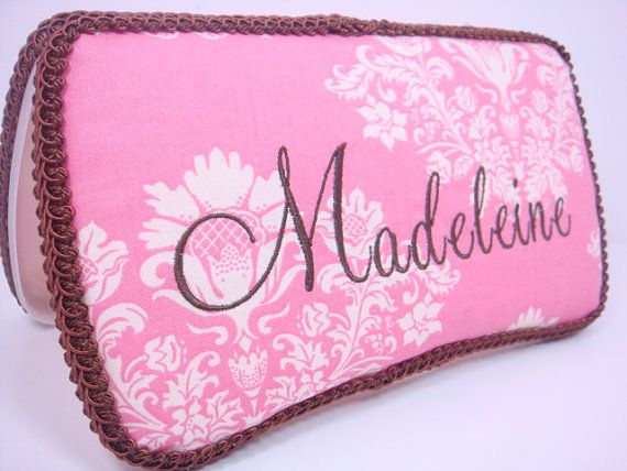 PERSONALIZED Diaper Wipes Case.