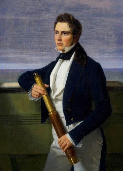 Portrait of Fritz Constantin Brun, 1837.