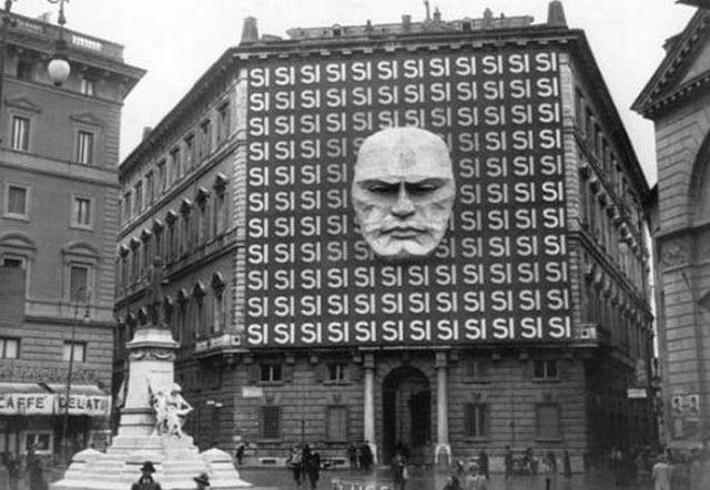 Sede do Partido Fascista Italiano de Benito Mussolini (1934).