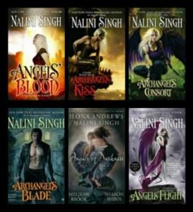 Guild Hunter Series, Nalini Singh