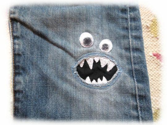 Ich hab so einige Teile, von denen ich mich nicht trennen kann. So geht es mir mit den beiden Hosen. Deshalb werden sie geflickt, bis es ni...