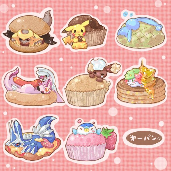 Artist pokemon and desserts by request tasty pok mon for Pokemon cuisine
