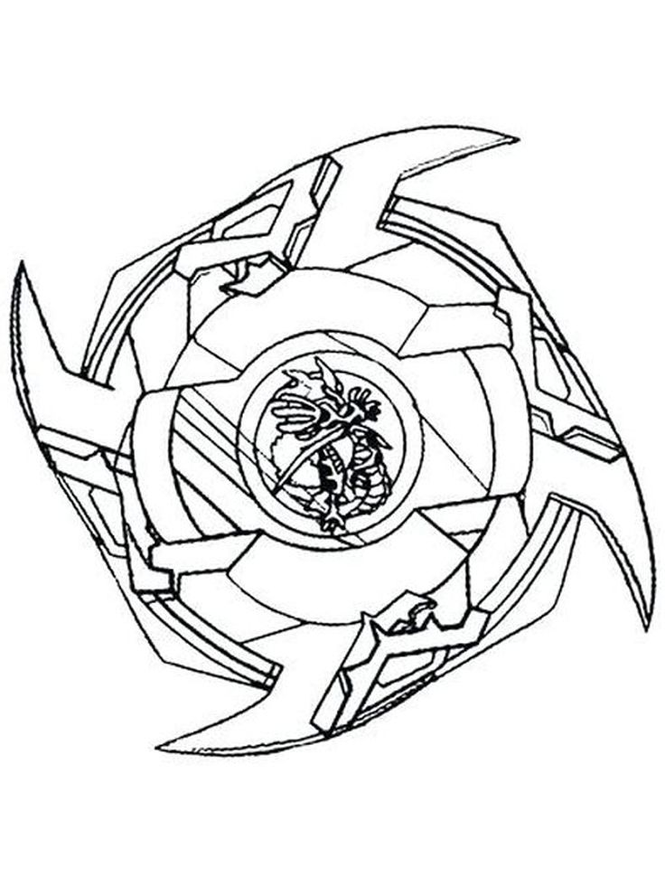 Beyblade Burst Coloring Pages 003 in 2020 | Coloring pages ...