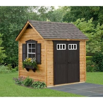 Suncast Legacy Garden Shed By Suncast Legacy 6 Ft X 8 Ft Garden Shed  Discontinued ...