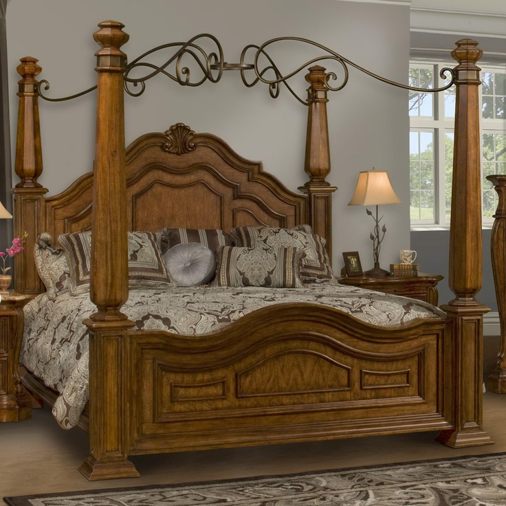 Florence King Poster Canopy Bed by Endura Furniture