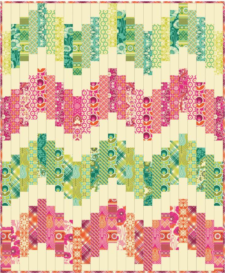 357 best STRIP QUILTS images on Pinterest   Crafts, Patterns and ... : strip quilt block patterns - Adamdwight.com