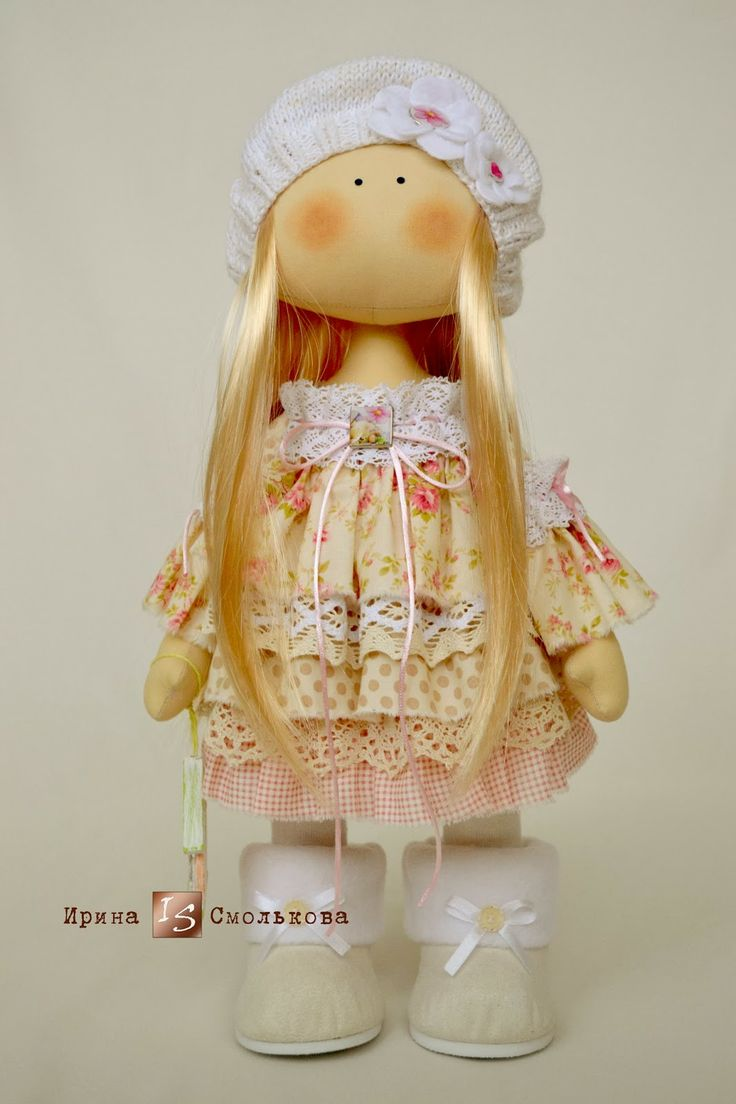 Cabin Fabulous: Caramelo...(sweet doll with layers of lovely ruffles. Cuteness!
