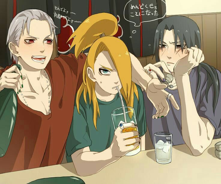 Konoha High School (Akatsuki)   Lol!   Naruto, Akatsuki e