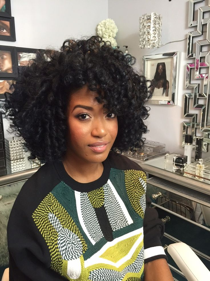 HAIRY SITUATION* GABI DOES HAIR! (Rod set on natural hair including video tutorial)