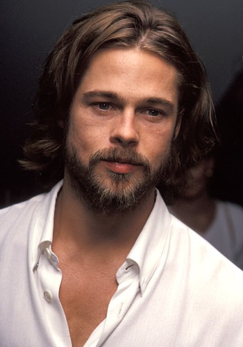 Not Jesus. It's Brad Pitt!