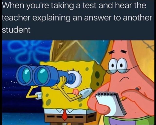 Yeah, like I never ask a question but I'll wait for someone to ask and listen in for the answer.