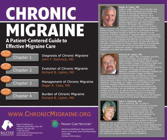how to get rid of chronic migraines