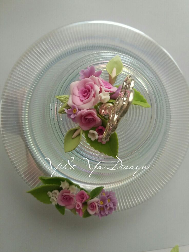 Cold porcelain  Soğuk porselen şekerlik