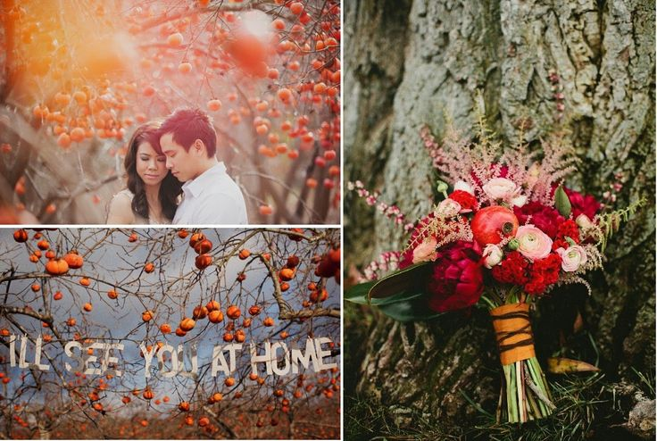Wedding inspiration   Matrimonio a tema melagrano