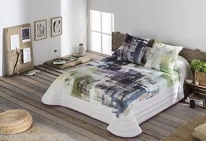 colcha bouti Glow estampado digital quilt  couvre-lit JVR 80,90,120,150,160,180 | eBay