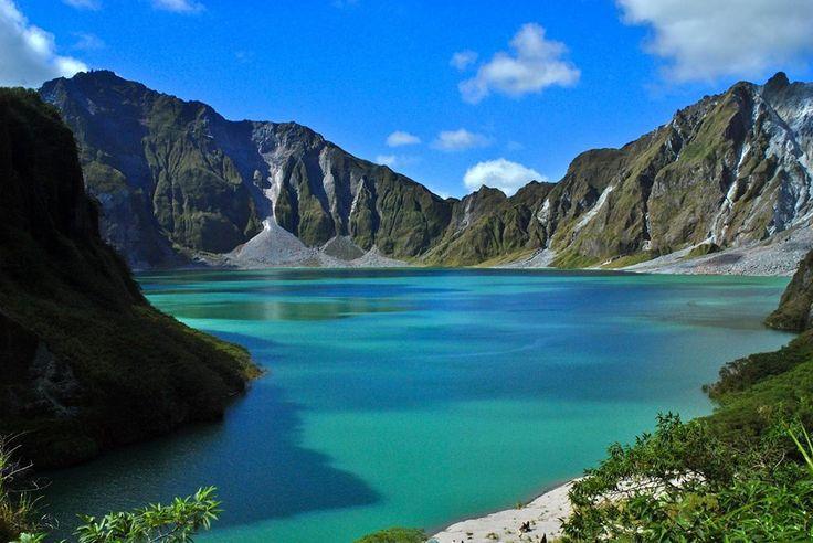 Mount Pinatubo in Botolan, Zambales