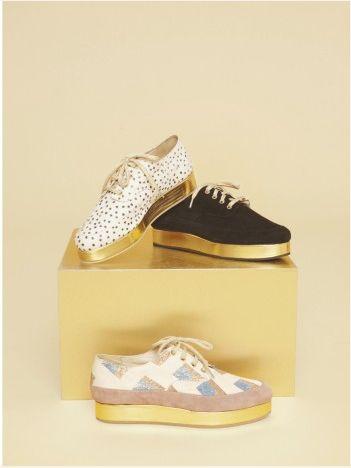: Golden Sole, Stine Goya, Goya S S, Fashion, Ss 2012, Looks Book, Platform Shoes, Goya Shoes, Goya Ss