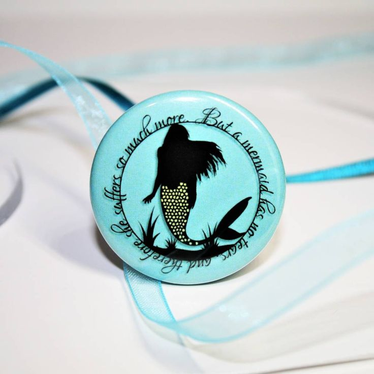 Are you interested in our mermaids tears? With our mermaid badge you need look no further.