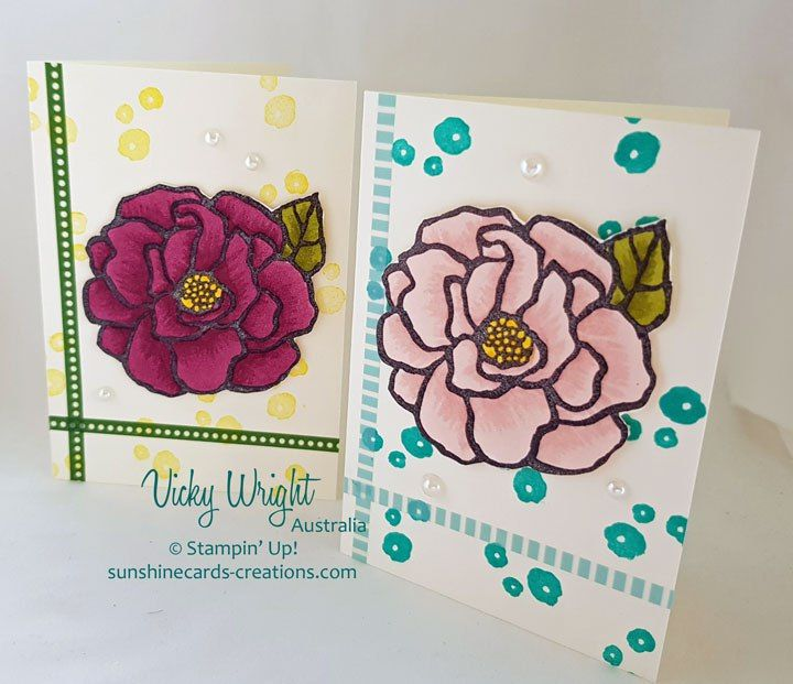 2018 Occasions Cataogue, Beautiful Day, Stampin' Blends, Basics Pack 2 Washi Tape, Basics Pack 3 Washi Tape