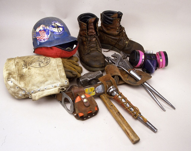 Ironworker's tools by national museum of american history, via Flickr