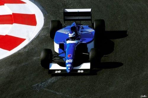 1994, Frankreich GP, Magny-Cours, Olivier Panis, Ligier,