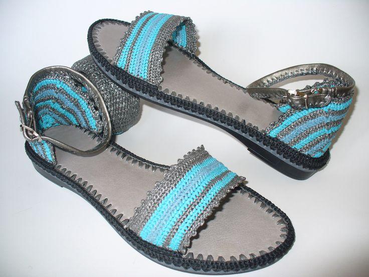 The Big Egyptian Crochet Sandals created by LeeLu