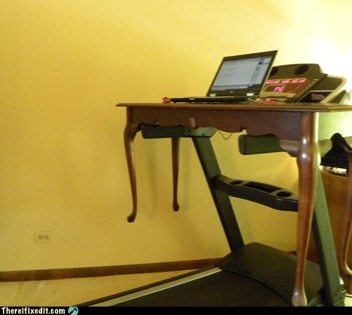 Treadmill Desk Funny: 12 Best There, I Fixed It Images On Pinterest