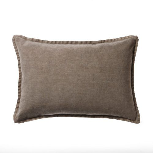 Vintage Washed Linen Long Cushions