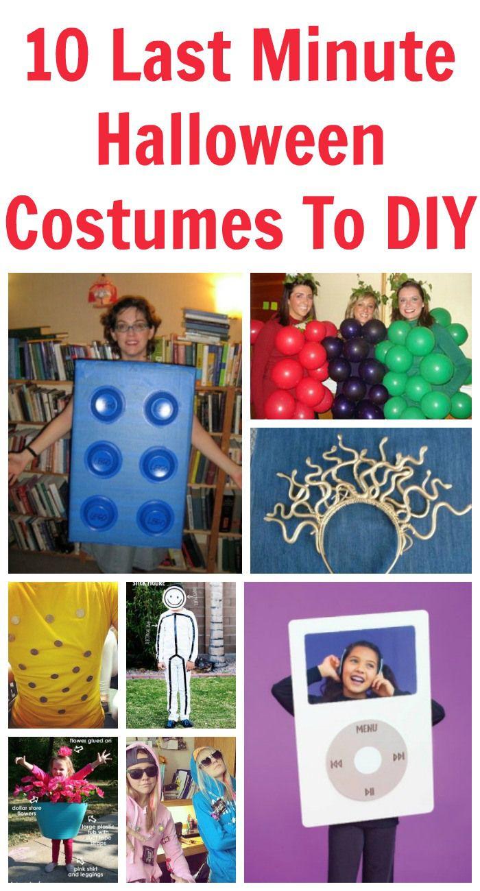 10 last minute halloween costumes to diy last minute. Black Bedroom Furniture Sets. Home Design Ideas