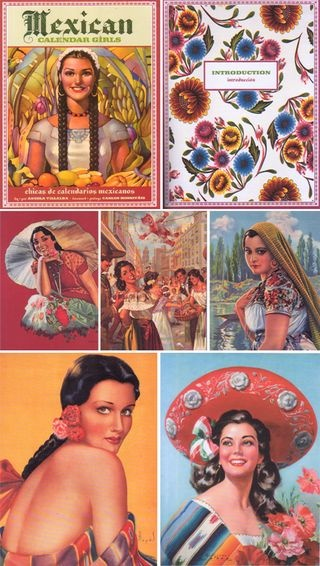 Mexican Calendar Girl Art : Best images about vintage mexican art on pinterest