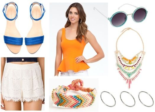 Electric Daisy Carnival inspired outfit.