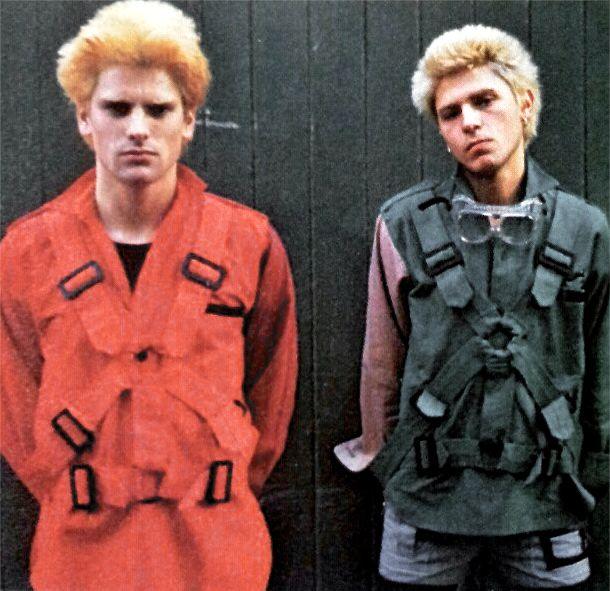 SEDITIONARIES Parachute shirts designed by Vivienne Westwood, circa 1977. Ph: Shelia Rock