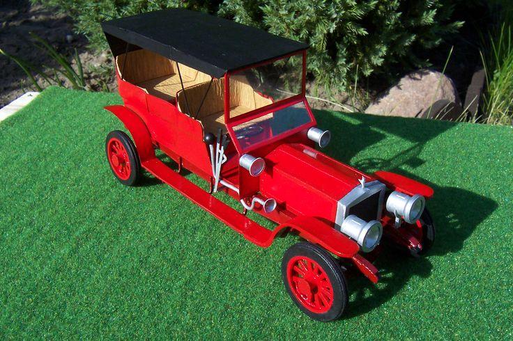 Rolls-Royce Silver Ghost 1907  wydawnictwo Mały Modelarz