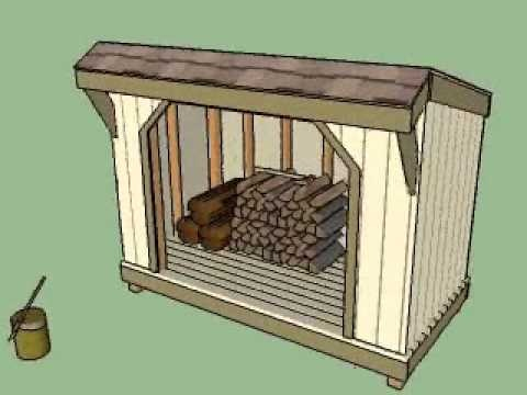 Firewood Shed Diy Plans Pinterest Outdoor Projects
