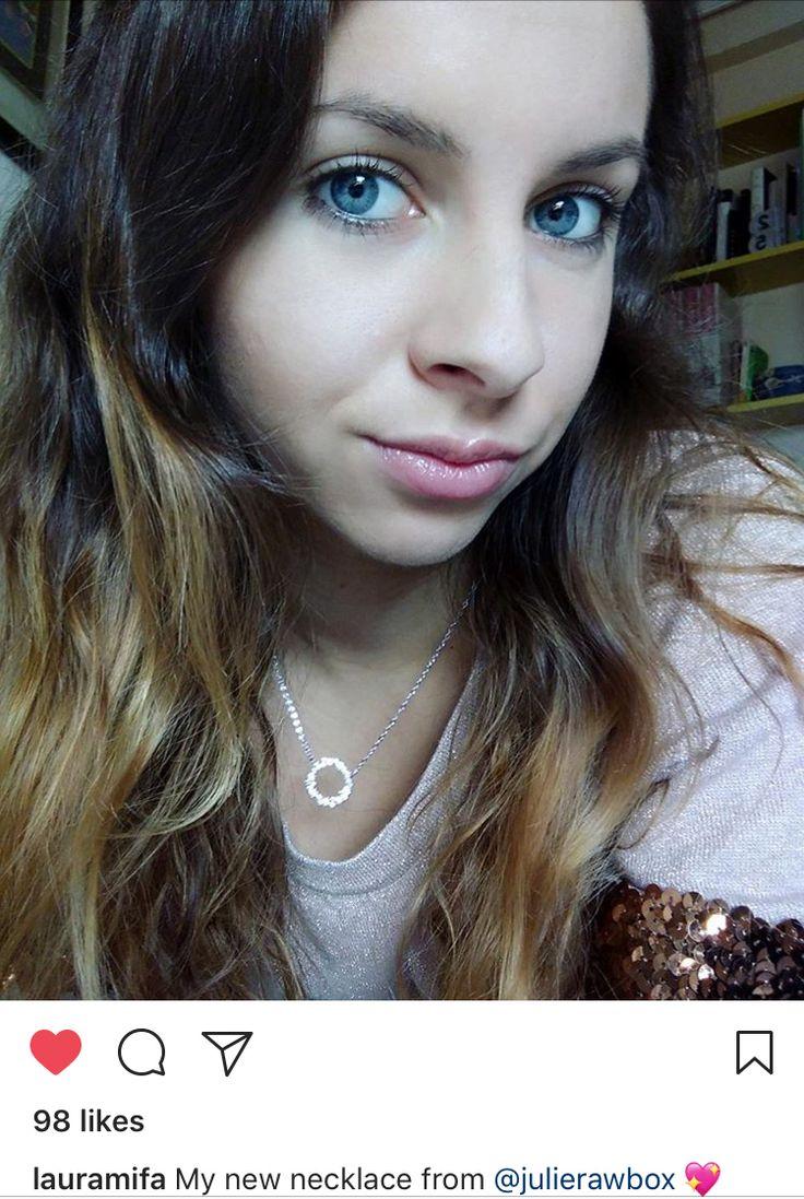 Customer review #julierawbox #julierawgirl #necklace #giftforher #jewelry