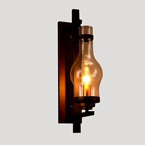 Lightinthebox vintage sconce lodge retro iron wall lamp c