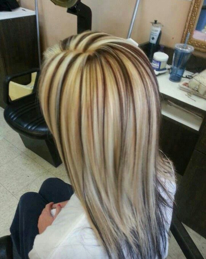 82 best hair images on pinterest hairstyles hair and braids great layered haircut with blonde to platinum highlights and brown lowlights more hair styles like this pmusecretfo Gallery