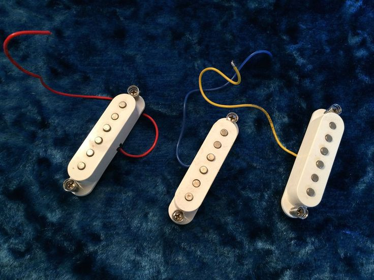 Fender Squire Strat Pickups - Guitar Parts Project - Free Ship! #Fender