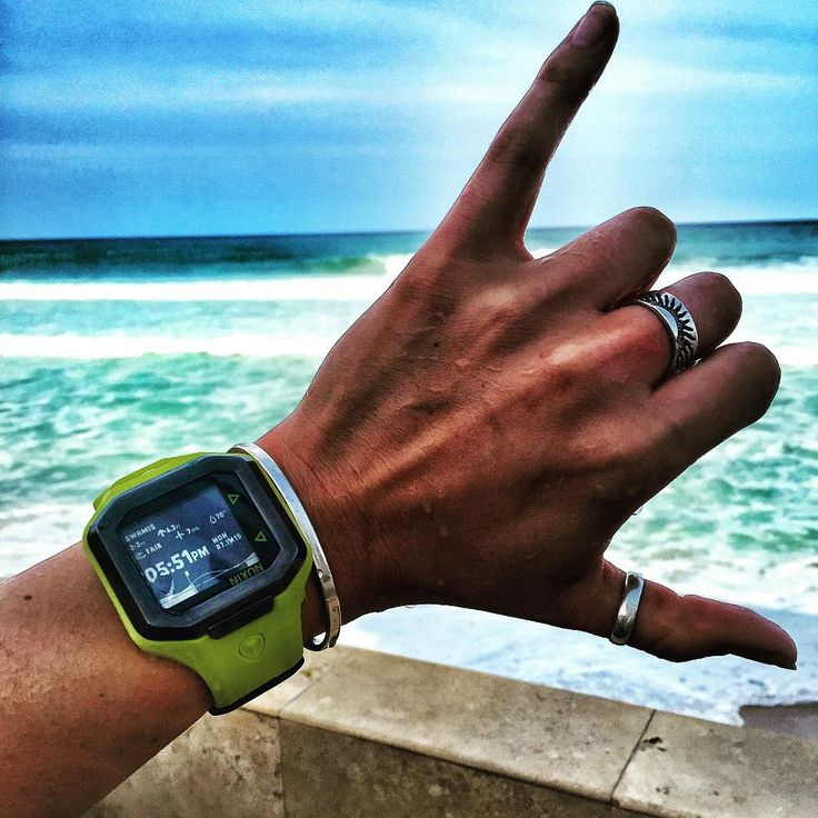 The Ultratide by @missykgibson Nixon watch - summer - sea - beach - surf watch - for her