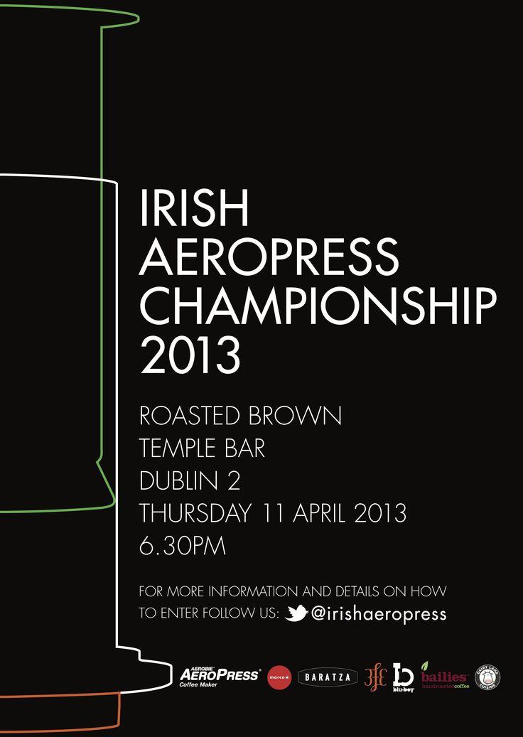 irish aeropress championship 2013