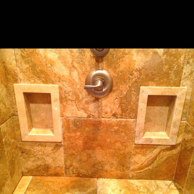 Standard Tub Size And Other Important Aspects Of The Bathroom: Custom Travertine Shower Inserts.