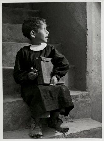 Après l'école.Aliano ( province de Matera, Basilicate )