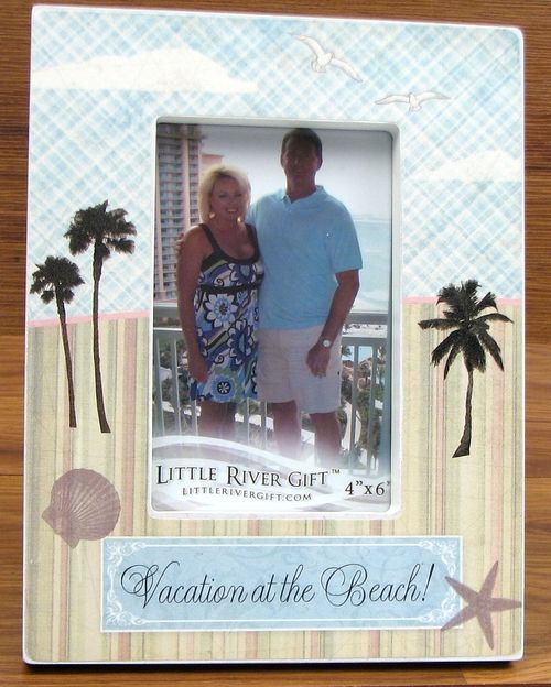 Vacation At the Beach Picture Frame