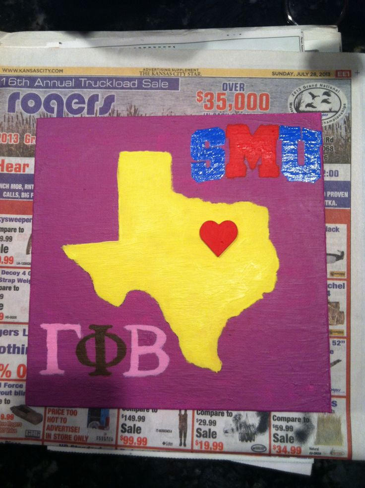 Gamma phi beta big little craft