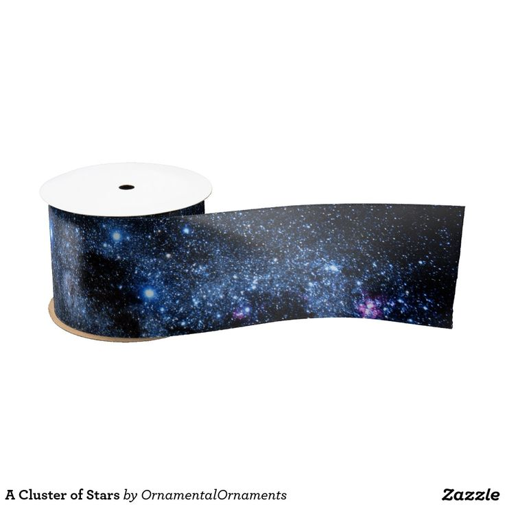 A Cluster of Stars Satin Ribbon