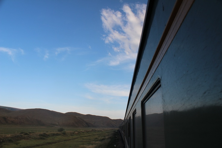 transiberian train, mongòlia