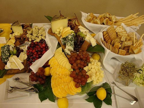 cheese display