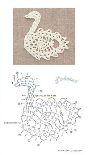 Crochetpedia: 2D Crochet Bird / Owl Applique Patterns