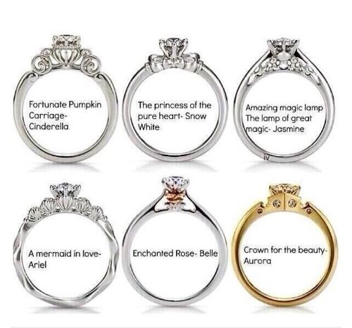 Disney Princesses Wedding Rings How Precious We Are All Till Meet